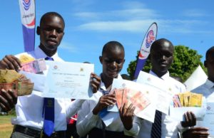 CNOOC Uganda Awards 2016's Best Performing Students