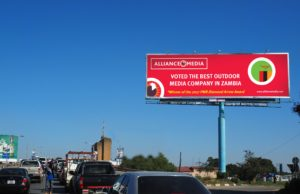 Alliance Media In Zambia Voted As Best Outdoor Advertising Company